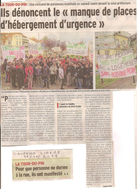 Manifestation sous prefecture novembre2018
